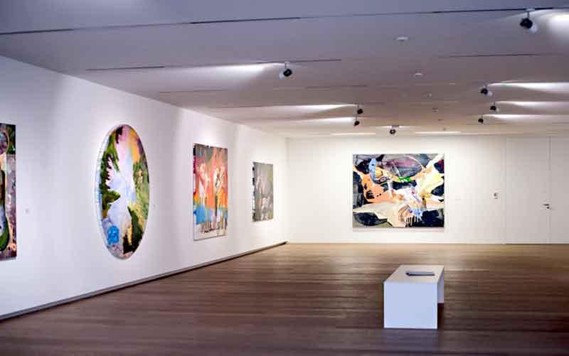 Einblick in die Ausstellung Museum Angerlehner