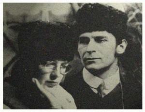 1915 mit Franz Marc