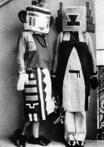 1918 mit Sophie Arp Täuber