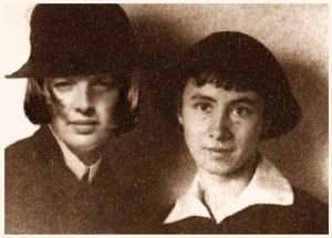 1920 mit Hannah Höch