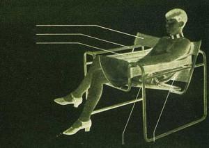 "1928 Lou im ""Breuersessel"""