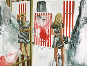 Das bin doch ich, Öl auf Leinwand | Oil on Canvas, 160 x 210 cm, 2007