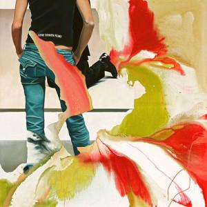 Liebe deinen Feind, Öl auf Leinwand | Oil on Canvas, 145 x 145 cm, 2007