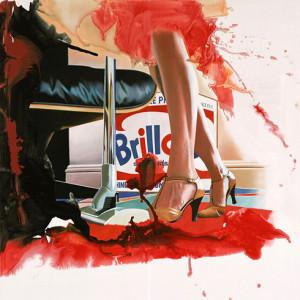 Staubsauger, Öl auf Leinwand | Oil on Canvas, 140 x 140 cm, 2007